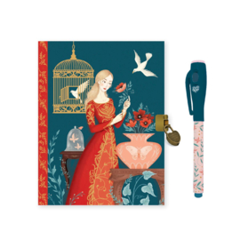 DJECO Lovely Paper - Secrets Notebook Lisa - met onzichtbare pen