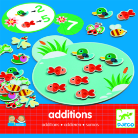 DJECO Eduludo Additions rekenspel -  5 jr.  +