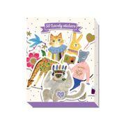 DJECO Doosje met 50 stickers - Aiko 3 jr. +
