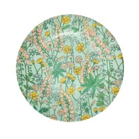 RICE melamine side plate - lupin print