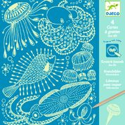 DJECO kraskaart - Sea Life  6 jr. +