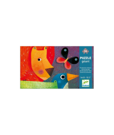 Giga puzzel Dieren parade (36 stukjes) 4 jr. +