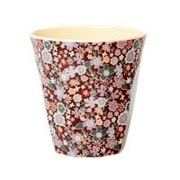 RICE beker - Fall Floral print (AW21 collectie)