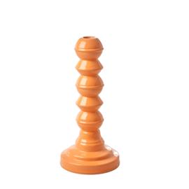 RICE metalen kandelaar - licht oranje (nieuwe collectie AW2020)