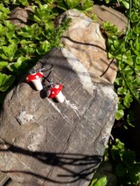 Oorbellen - Mushrooms earrings