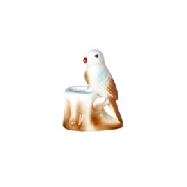 RICE Vogel decoratie - klein vaasje