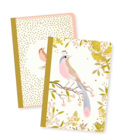 DJECO Lovely Paper - 2 small notebooks Tinou