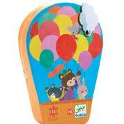 DJECO Puzzel luchtballon (16 stukjes) 3 jr. +