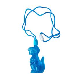 RICE bellenblaas blauwe dino -  3 jr. +