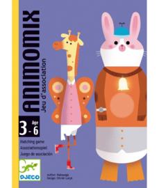 DJECO Kaartspel - Animomix -  3 jr. +