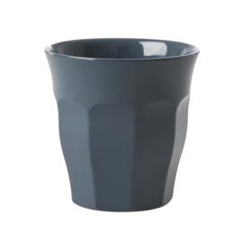 RICE melamine beker - donker grijs (High Summer 2019)