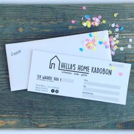 Hella's Home Kadobon €5