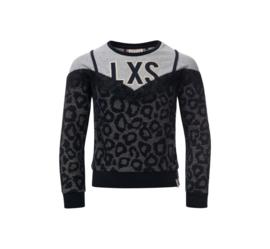 Fancy sweater met 2-in-1 look
