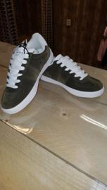 Sneakers dark green