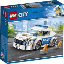 60239 Lego City Politiepatrouille auto