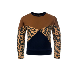 Loose-fit Animal-mix sweater