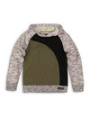 Sweater, Grey Melee, Army Green, Black