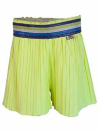 Short Plisee Neon Lime