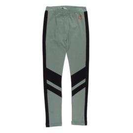 Legging, Groen met zwarte streep