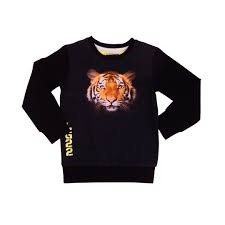 Sweater, Tiger Black
