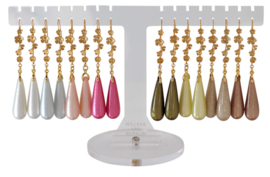 DIS841 - Earhooks display 8 pairs