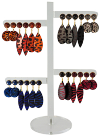 DIS12E - Earhooks display 12 pairs