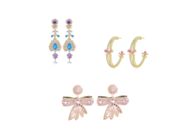 Festive Earhooks per pair