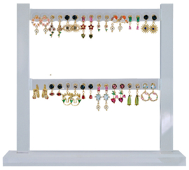DIS16K - Earhooks display 16 pairs CZ color