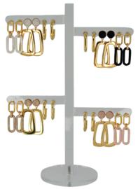 DIS12Y - Earhooks display 12 pairs