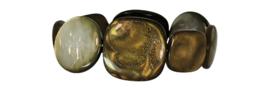 RL - bracelet resin large in pouch - login to choose color.