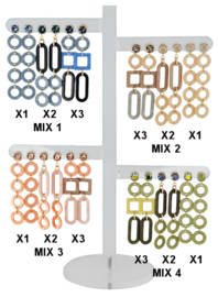 DIS12X - Earhooks display 12 pairs