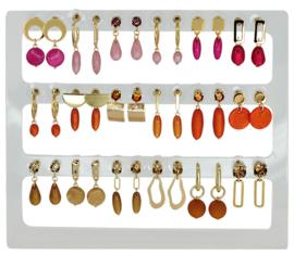 DIS18A - Earhooks display 18 pairs