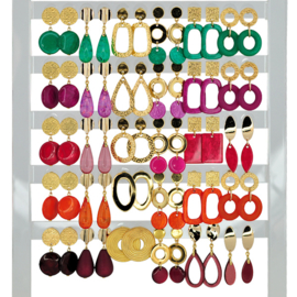Earhooks Displays 30 pairs