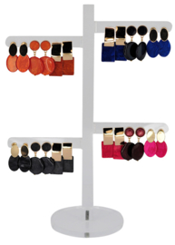 DIS12C - Earhooks display 12 pairs
