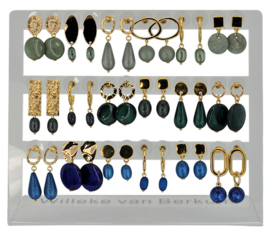 DIS18D - Earhooks display 18 pairs