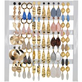 DIS30Z - Earhooks display 30 pairs