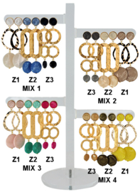 DIS12Z - one pair of earhooks