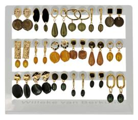 DIS18E - Earhooks display 18 pairs