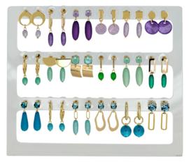 Earhooks Displays 18 pairs