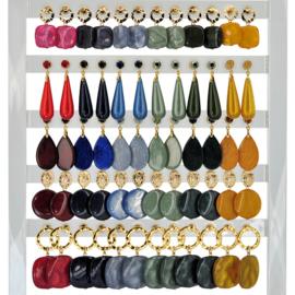 DIS30X - Earhooks display 30 pairs