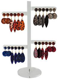 Earhooks Displays 12 pairs