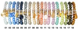 Bracelet full pearl beads