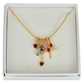 FCH52 - Festive chain necklace in gift box - 45 cm