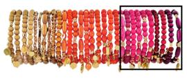 0704 - 10 bracelets refill desert, orange or raspberry