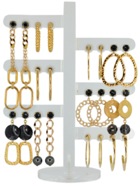 DIS12 - Earhooks display 12 pairs