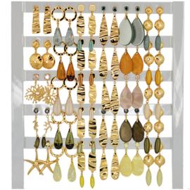 DIS30Y - Earhooks display 30 pairs