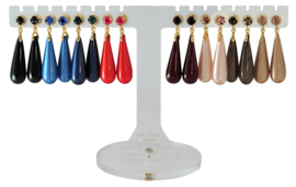 EH852 - Earhooks display 8 pairs