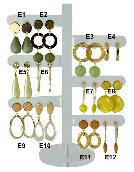 DIS12E - one pair of earhooks