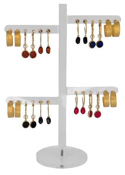 DIS12D - Earhooks display 12 pairs
