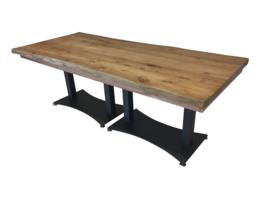 Comfortafel 220 x 100 cm hout teak